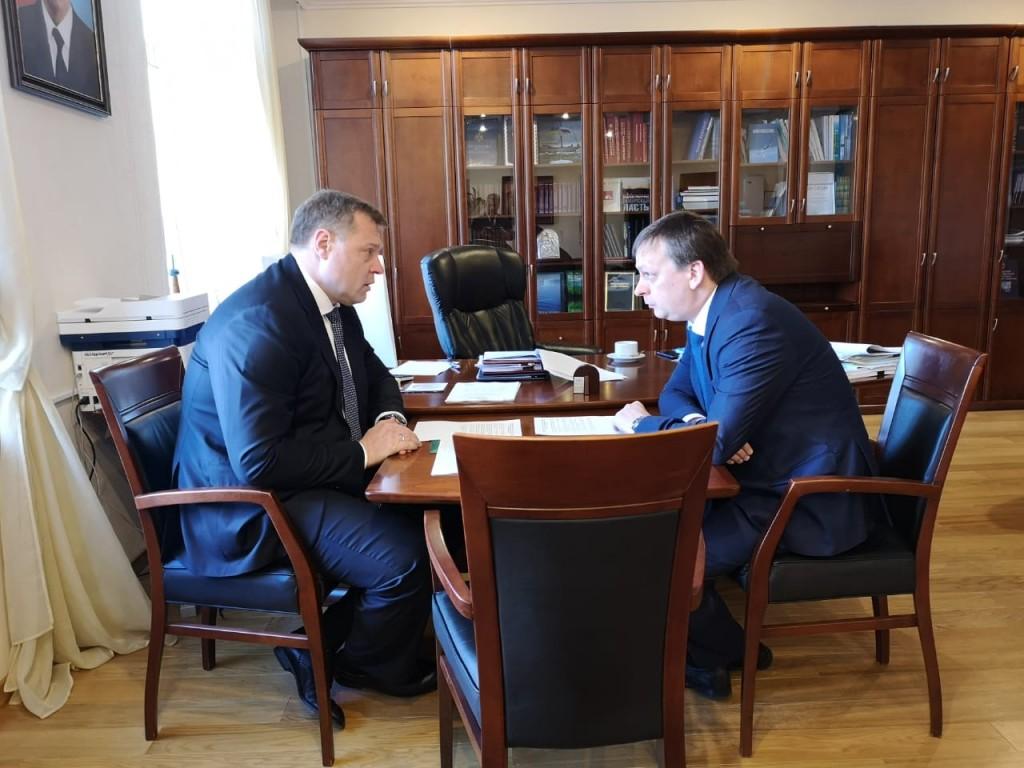 Игорь Бабушкин обсудил в Москве предстоящий проблемный паводок