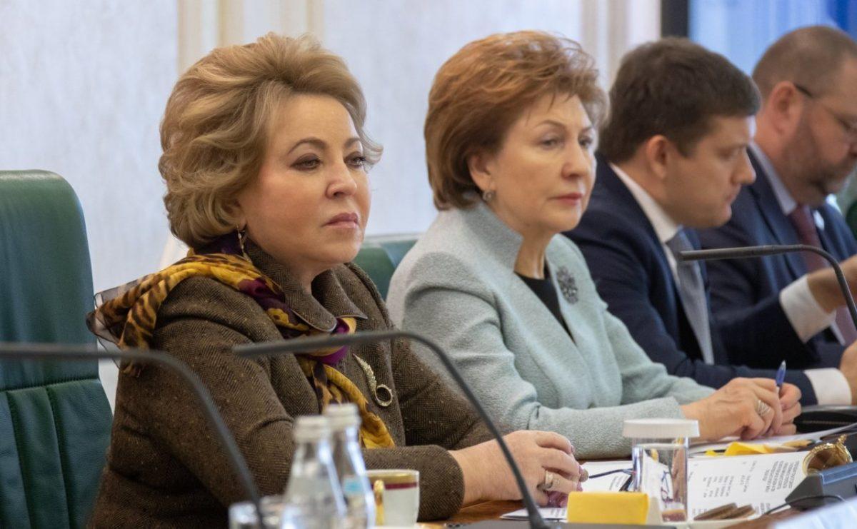 Матвиенко раскритиковала современную российскую архитектуру