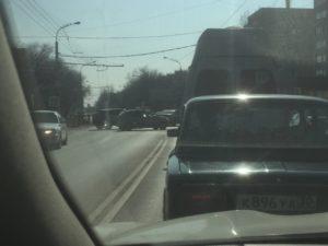 Ситуацию с пробками на Боевой усугубили неработающие светофоры