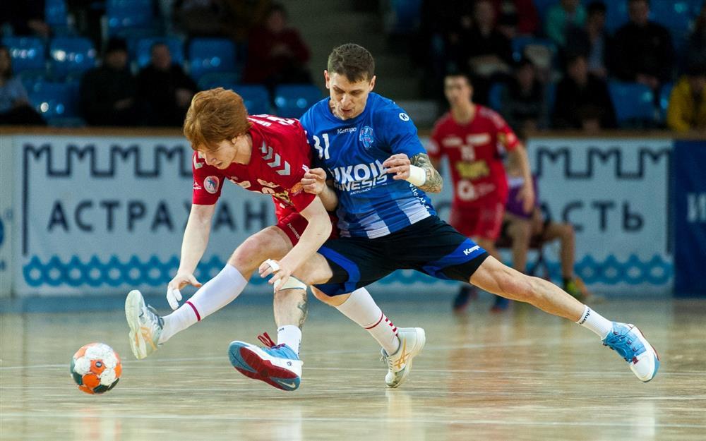 Астраханские гандболисты вышли в четвертьфинал Чемпионата России