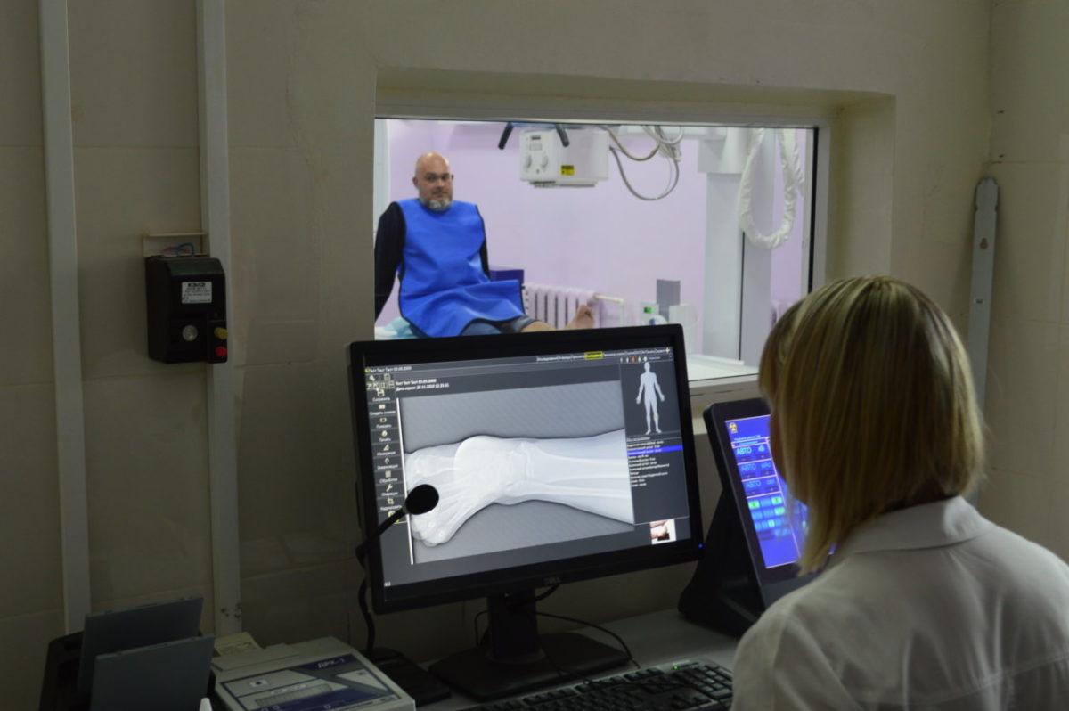 Рентгенкабинет городской поликлиники №10 в микрорайоне АЦКК теперь работает по-новому