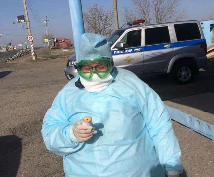 Медики начали выставлять посты на въездах в Астраханскую область
