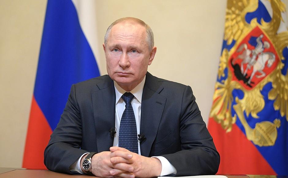 Путин заявил об ухудшении ситуации с коронавирусом в стране
