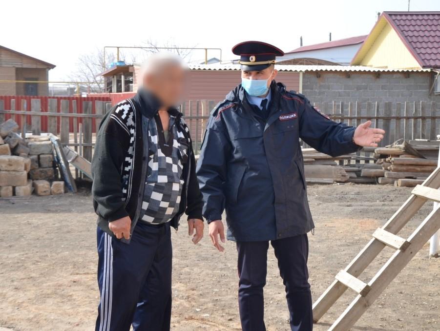 Астраханец наказан за самовольный выход из карантина
