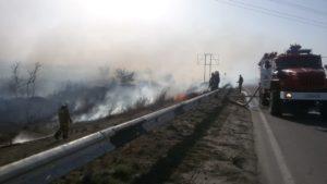 В Астраханской области готовятся к чрезвычайной пожарной опасности