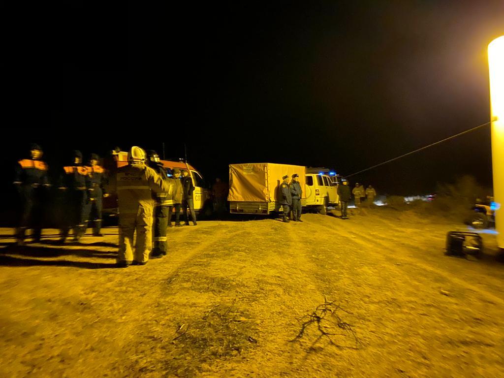 Упавший в Астраханской области вертолет проверяет авиационный комитет