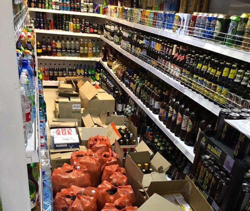 В Астрахани пресекли незаконную продажу алкоголя