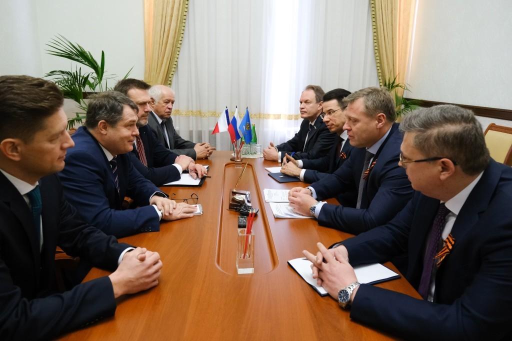 Астраханская область заинтересована в продвижении своей продукции в Чехию