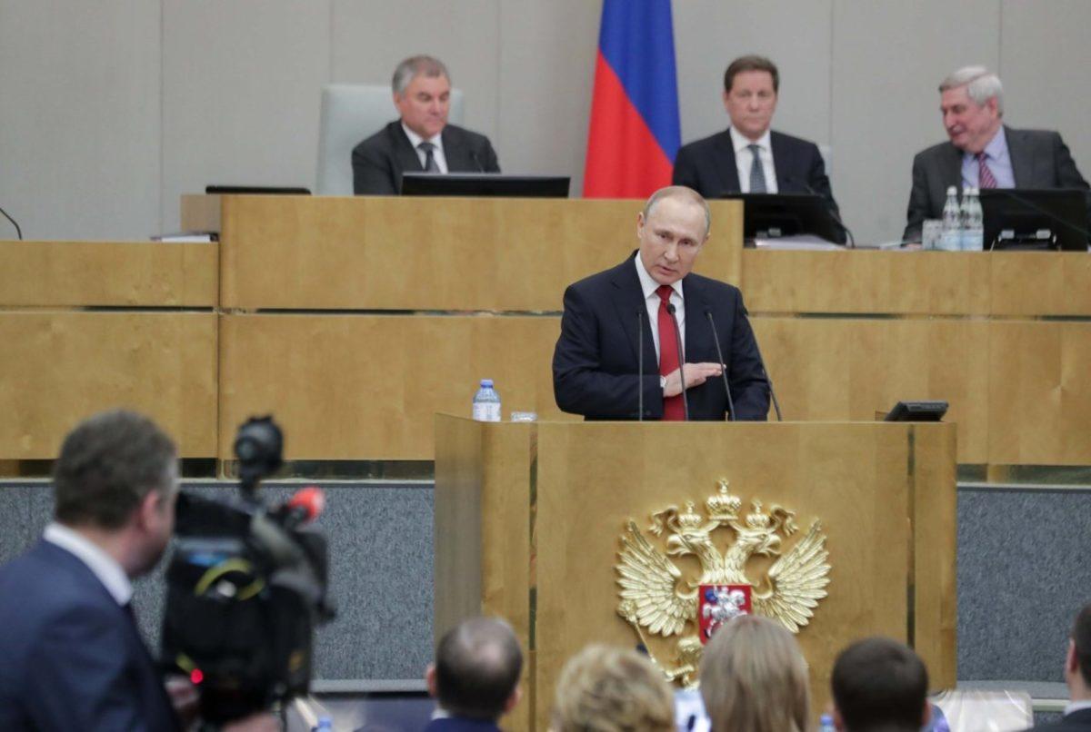 Госдума дала Путину шанс еще на два президентских срока