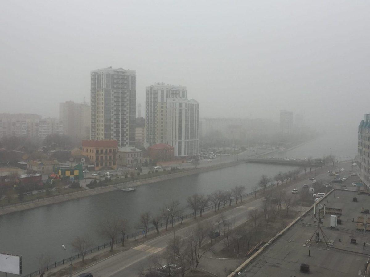 В МЧС назвали официальную причину дымки в Астрахани