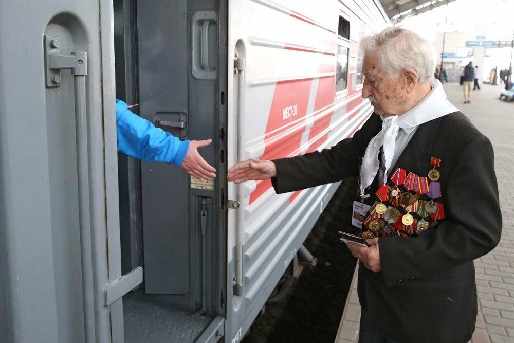 На Приволжской железной дороге стартовала акция «Поможем пенсионерам РЖД»