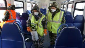 В Астраханских электричках усилены противоэпидемиологические меры