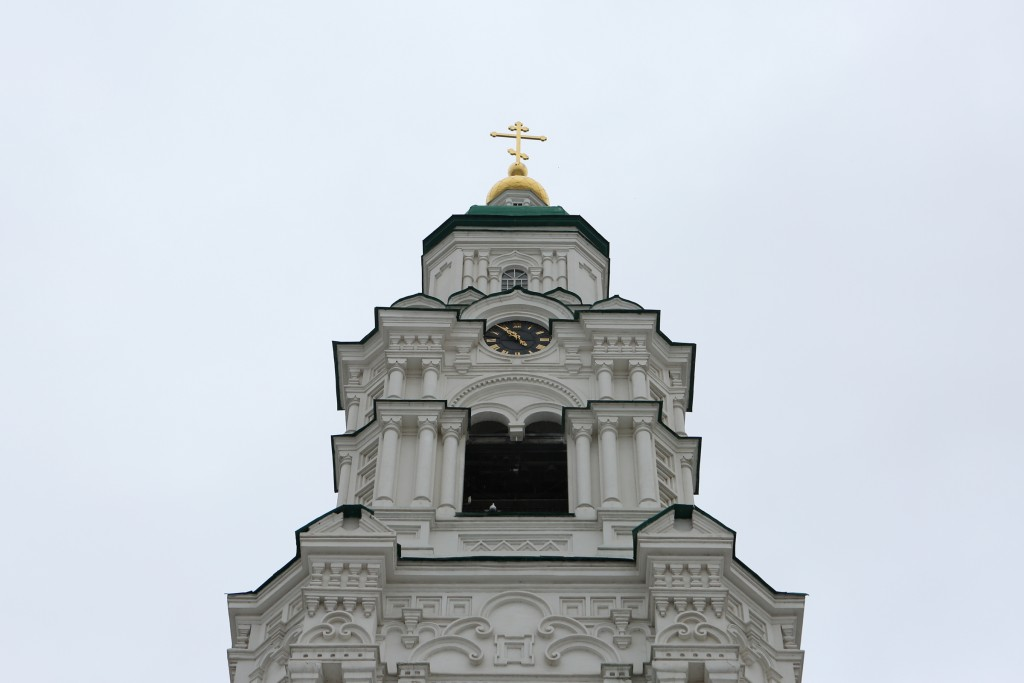 Часы астраханского кремля ушли на карантин