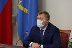 Губернатор Астраханской области ушел на самоизоляцию