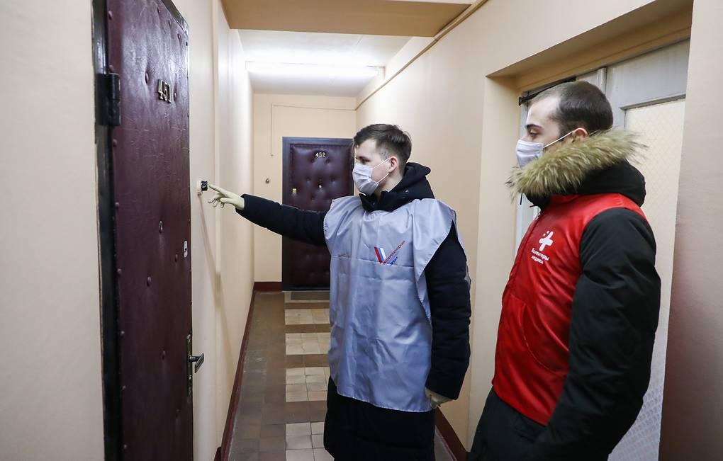Ни один волонтер из Астрахани не заразился коронавирусом