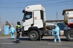У грузового транспорта возникли проблемы со въездом в Астрахань