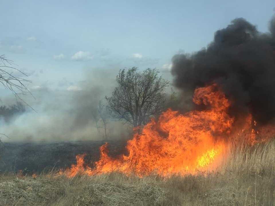 В Астраханской области прогнозируют крупные природные пожары
