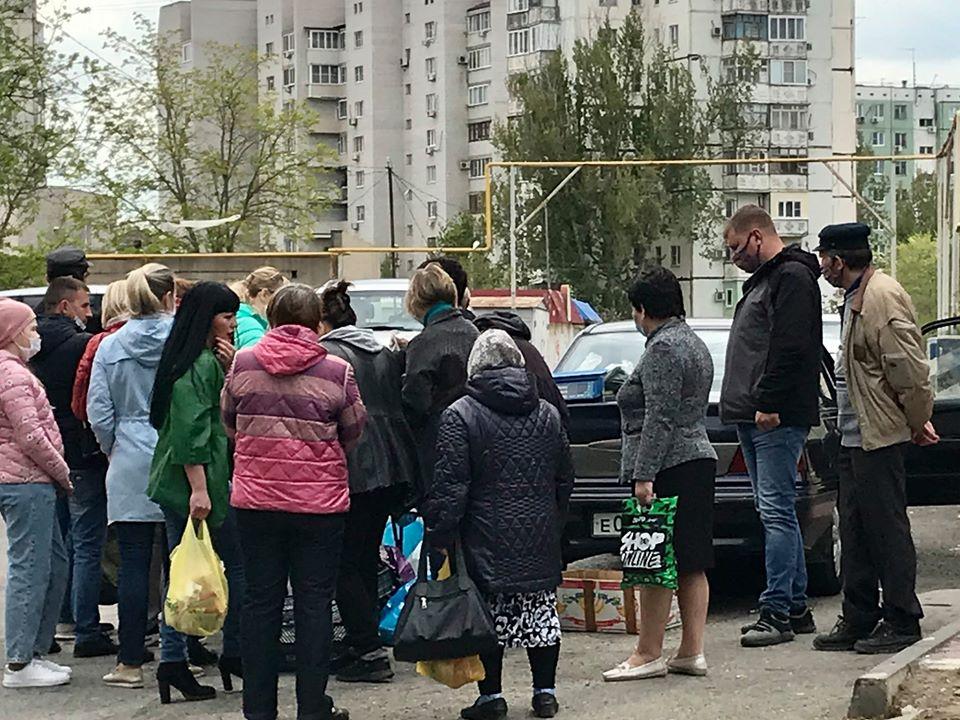 Сенатор Башкин раскритиковал торговцев на улицах Астрахани
