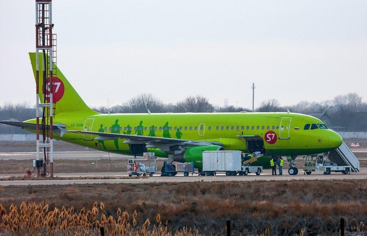 Полиция ищет пассажиров, прилетевших в Астрахань 2 апреля рейсом S7