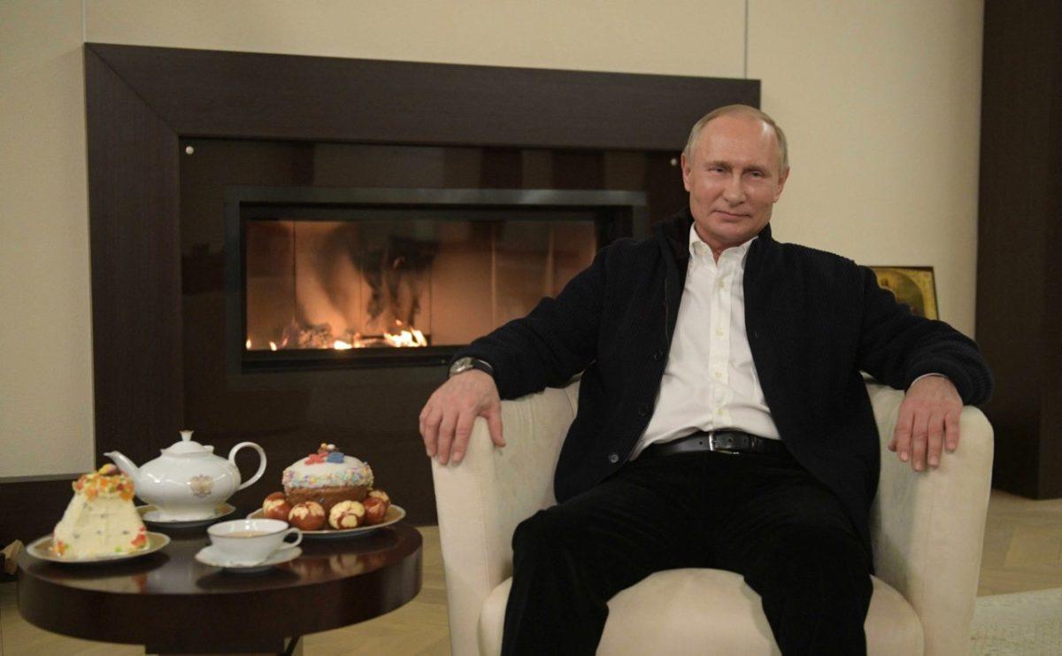Владимир Путин: «Все будет хорошо с божьей помощью»