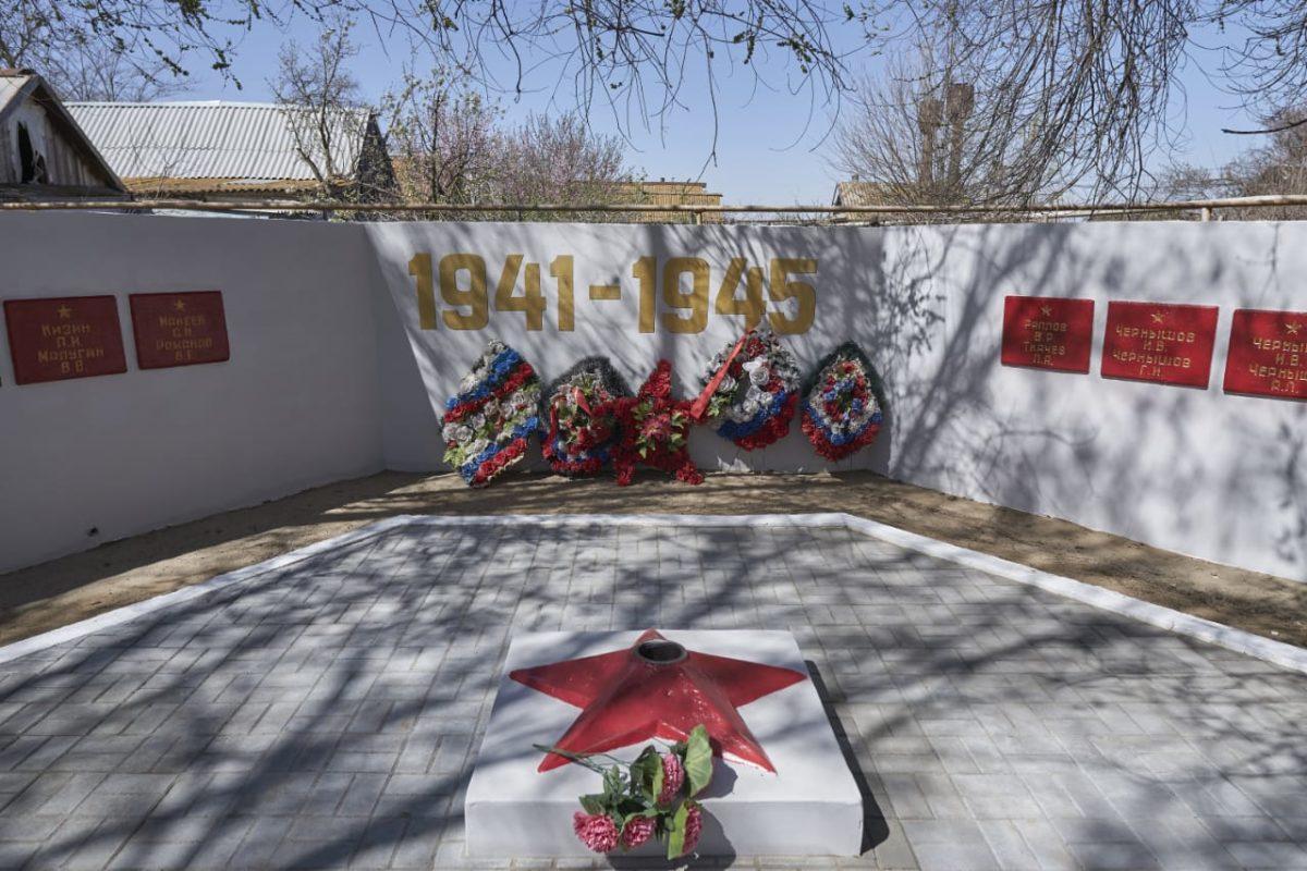 Нефтяники возрождают памятники героям Великой Отечественной войны