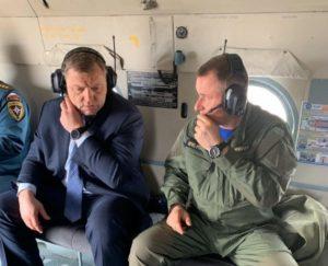 Игорь Бабушкин продолжает держать на контроле ситуацию с пожарами