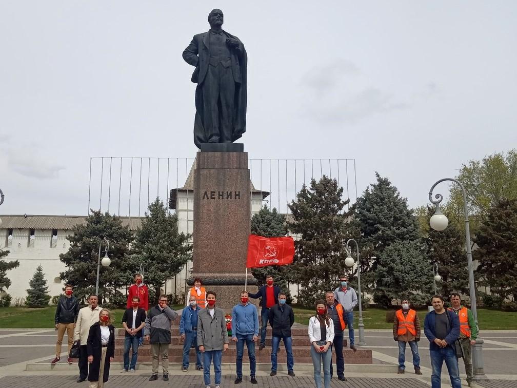 В Астрахани отметили 150-летие В. И. Ленина