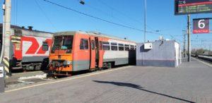 В Астрахани отменены городская электричка и рельсовый автобус