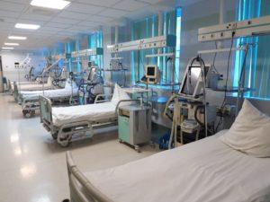 Новые госпитали в Астраханской области все еще не начали принимать пациентов