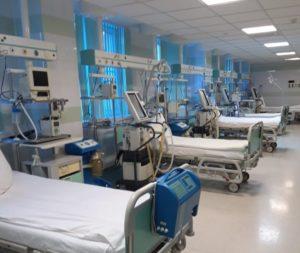 В Астраханской области заработал второй ковид госпиталь, построенный военными