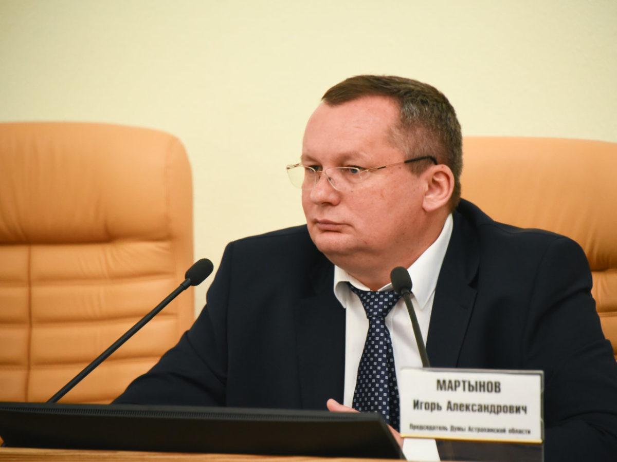 Игорь Мартынов: Депутаты поддержали инициативу о введении специального налогового режима для самозанятых