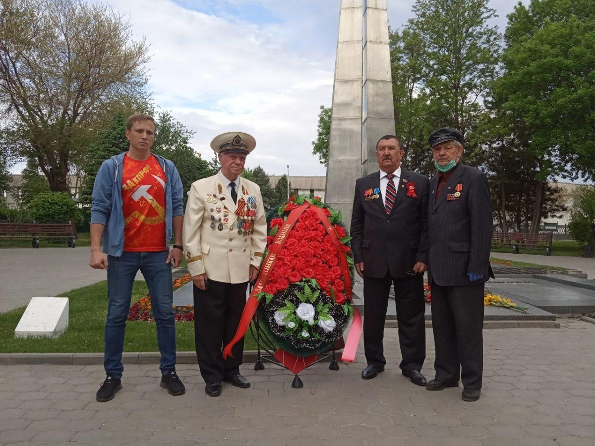 75-летие Победы под красными знаменами