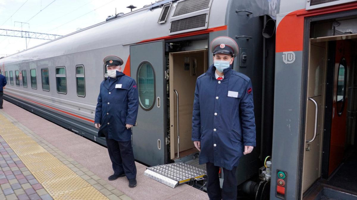 Около 88 тыс. пассажиров отправлено с вокзалов и станций Астраханского региона ПривЖД в ноябре