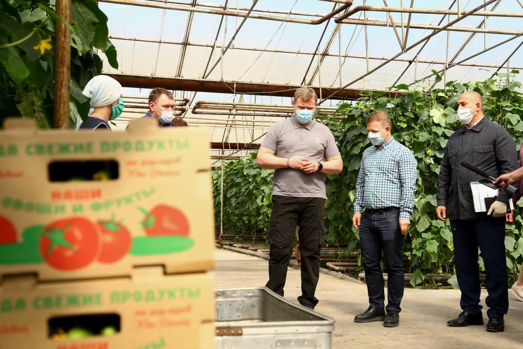 Игорю Бабушкину продемонстрировали успехи астраханских сельхозпроизводителей
