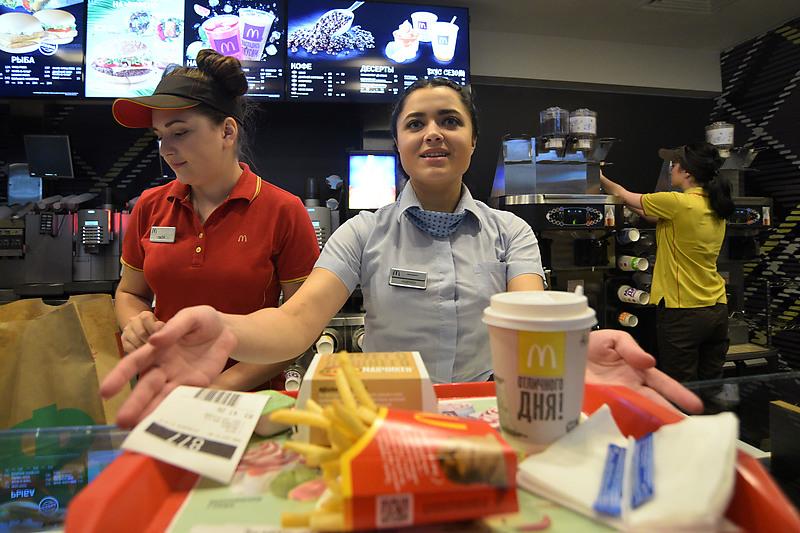 Астраханский картофель едят клиенты ресторанов «Макдональдс» и «Бургер Кинг»