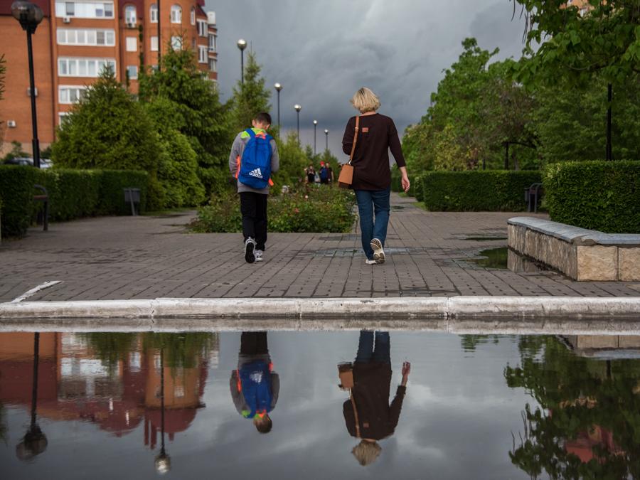 Как выглядела Астрахань в день отмены пропусков и сильного ливня