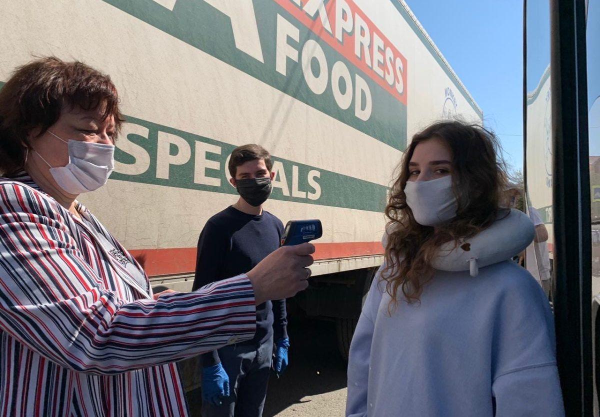 Коэффициент заражения коронавирусом в Астраханской области продолжает расти