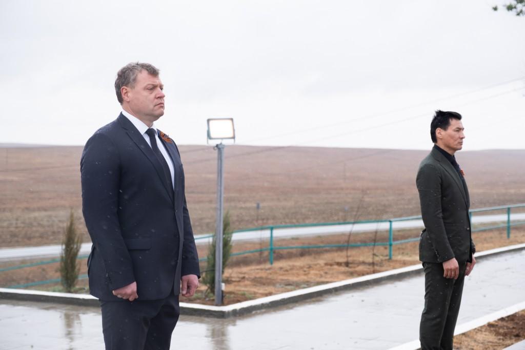 Игорь Бабушкин поблагодарил народ Калмыкии за заботу о мемориале в Хулхуте