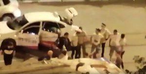 В Астрахани начинающий водитель-таксист сбил девушку на «зебре»