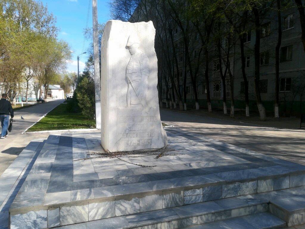 Администрация объяснила исчезновение памятника воинам из микрорайона Юго-Восток-3