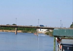 На закрытом мосту через Царев обнаружили проезжающую «Газель»