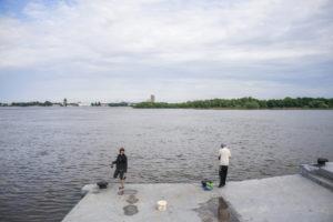 Судак в астраханских реках ловится все активнее