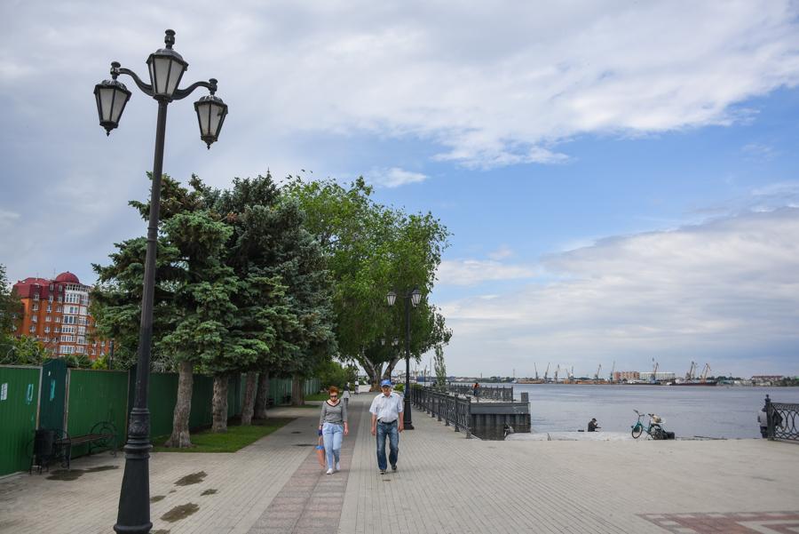 Астраханцы хотят набережную в районе порта в центре города