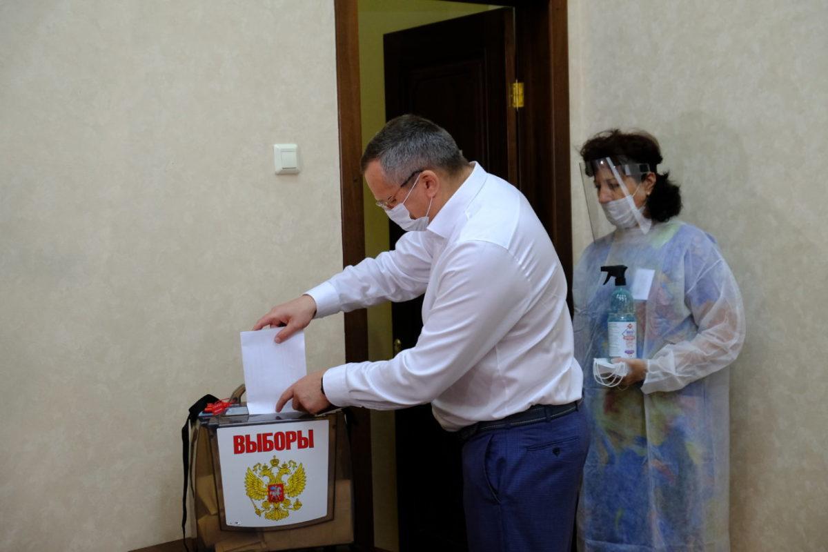 Игорь Мартынов принял участие в Общероссийском голосовании
