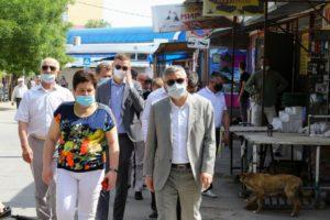 Власти приехали посмотреть на благоустройство Больших Исад
