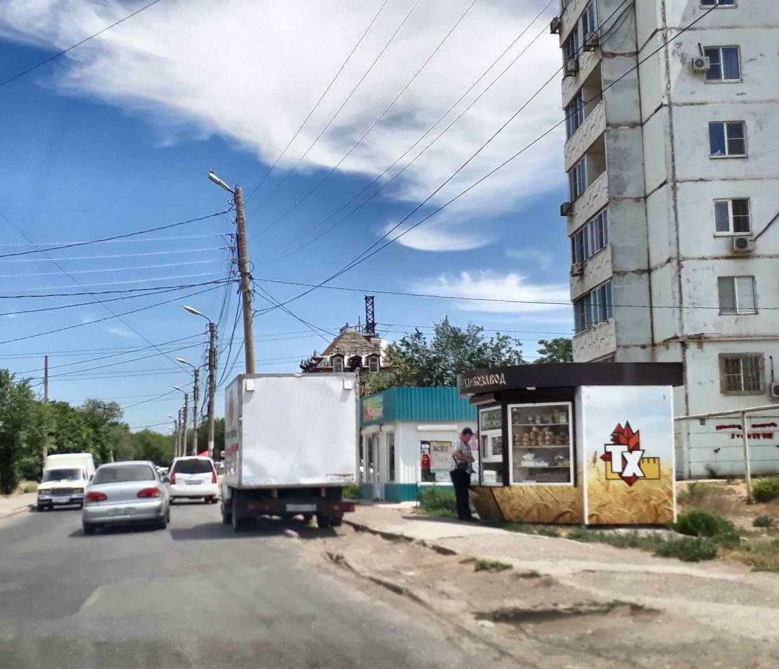 В Астрахани собираются снести часть киосков «Хлебозавод Трусовский»