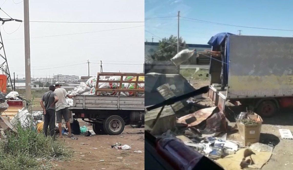Астраханцев за несанкционированный сброс отходов привлекут к административной ответственности