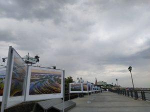 Пейзажи Астрахани пополнили фотовыставку, которую снимали три года