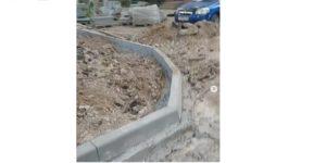 Астраханцы жалуются на заброшенный ремонт двора в микрорайоне 10 лет Октября