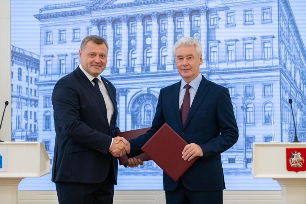 Игорь Бабушкин поздравил Москву с праздником